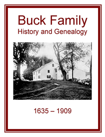 Buck Family History and Genealogy | eBooks | History