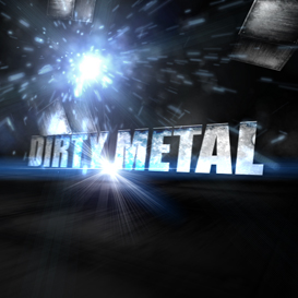 Dirty Metal Text | Software | Software Templates