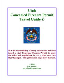 Utah Concealed Firearm Permit Travel Guide 2011 | eBooks | Travel