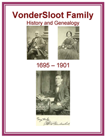 VonderSloot Family History and Genealogy | eBooks | History