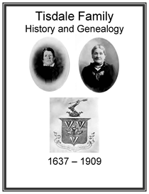 Tisdale Family History and Genealogy | eBooks | History