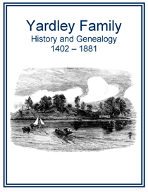 Yardley Family History and Genealogy | eBooks | History