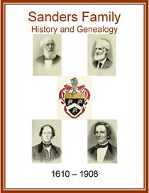 Sanders Family History and Genealogy | eBooks | History