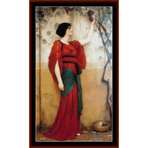Autumn - Godward cross stitch pattern by Cross Stitch Collectibles | Crafting | Cross-Stitch | Wall Hangings