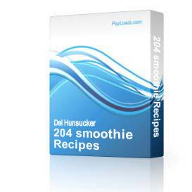 204 smoothie Recipes | eBooks | Food and Cooking