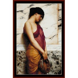 Tambourine Girl - De Blass cross stitch pattern by Cross Stitch Collectibles | Crafting | Cross-Stitch | Wall Hangings