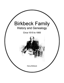 birkbeck family history and genealogy