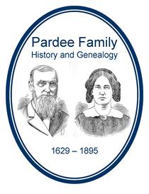 Pardee Family History and Genealogy | eBooks | History