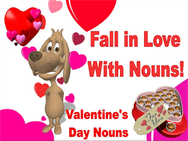 Fall In Love With Nouns:  Valentine's Day Powerpoint | Other Files | Documents and Forms
