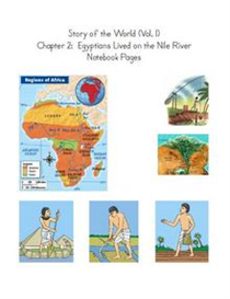 Egyptians Lived on the Nile Notebook Pages | eBooks | Education