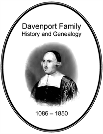 Davenport Family History and Genealogy | eBooks | History