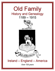 Old Family History and Genealogy | eBooks | History