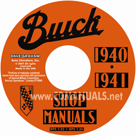 1940-1941 Buick Shop Manuals - All Models | eBooks | Automotive
