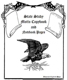 State Study Motto Copybook and Notebook Pages-Manuscript | eBooks | Education