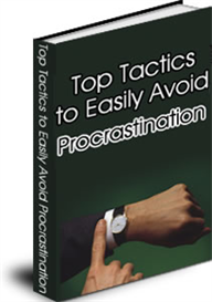 Top Tactics to Avoid Procrastination ebook RESELL | eBooks | Self Help