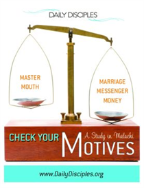 Checking Your Motives: A Study in Malachi | eBooks | Religion and Spirituality