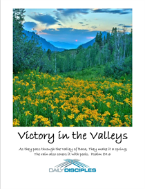 Victory in the Valleys Bible Study | eBooks | Religion and Spirituality