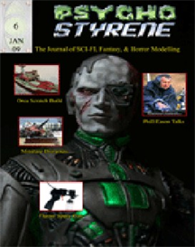 Psycho Styrene Model Magazine Issue 06 | eBooks | Arts and Crafts