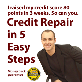 5 Easy Steps to Credit Repair
