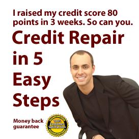 5 easy steps to credit repair