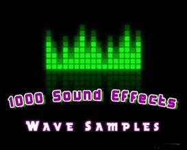 1000 Sound Effects - Wave Samples | Music | Soundbanks