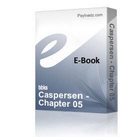 Caspersen - Chapter 05 | eBooks | Non-Fiction