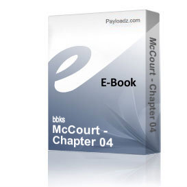 McCourt - Chapter 04 | eBooks | Non-Fiction