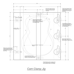 Guitar Plate Joining Jig Plans | Other Files | Patterns and Templates