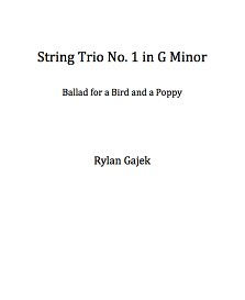 string trio no. 1, ballad for a bird and poppy