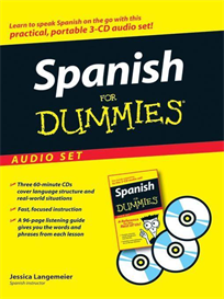 spanish for dummies 3 audio book set