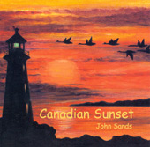 canadian sunset - john sands