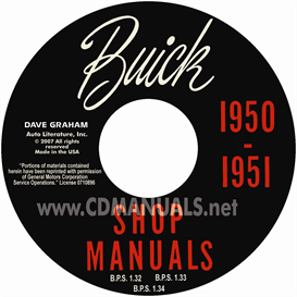 1950-1951 Buick Shop Manual - All Models | eBooks | Automotive