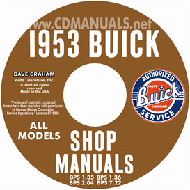 1953 Buick Shop Manuals - All Models | eBooks | Automotive