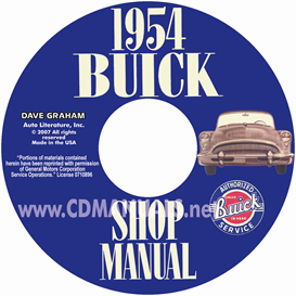 1954 Buick Shop Manual  All Models | eBooks | Automotive