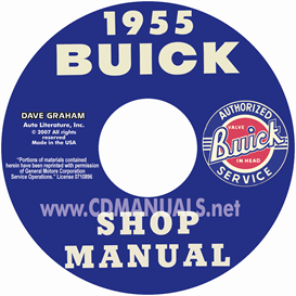 1955 Buick Shop Manual  All Models | eBooks | Automotive