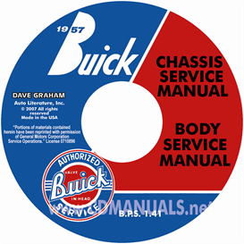 1957 Buick Cd-Rom Shop Manual & Body Manual - All Models | eBooks | Automotive