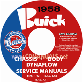 1958 Buick Cd-Rom Shop Manuals - All Models | eBooks | Automotive