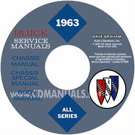1963 Buick Cd-Rom Shop Manuals - All Models | eBooks | Automotive