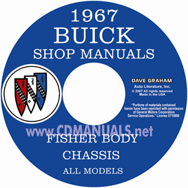 1967 Buick Shop Manual & Body Manual - All Models | eBooks | Automotive