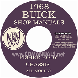 1968 Buick Shop Manual And Body Manual - All Models | eBooks | Automotive