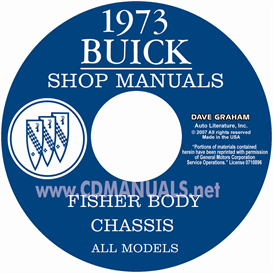 1973 Buick Shop Manual & Body Manual - All Models | eBooks | Automotive