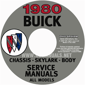 1980 Buick Shop Manuals | eBooks | Automotive