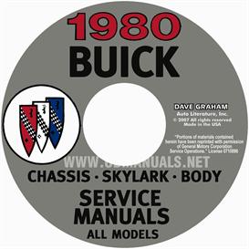 1980 Buick Shop Manuals | eBooks | Automotive