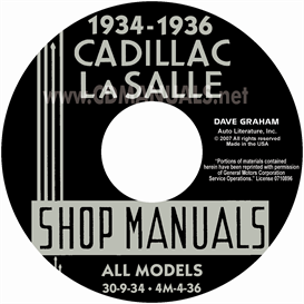 1934-1936 Cadillac & Lasalle Shop Manual | eBooks | Automotive