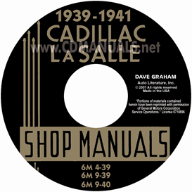 1939-1941 Cadillac & Lasalle Shop Manual | eBooks | Automotive
