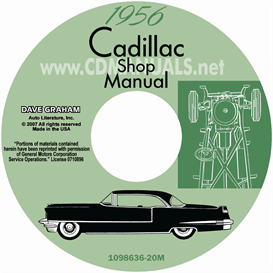 1956 Cadillac Shop Manual - All Models | eBooks | Automotive