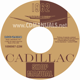1962 Cadillac Shop Manual - All Models | eBooks | Automotive