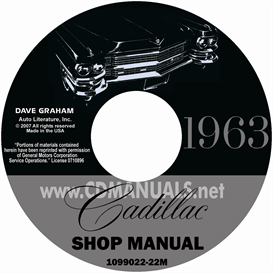 1963 Cadillac Shop Manual On For All Models | eBooks | Automotive