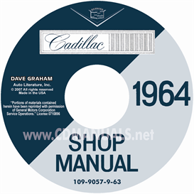 1964 Cadillac Shop Manual For All Models | eBooks | Automotive