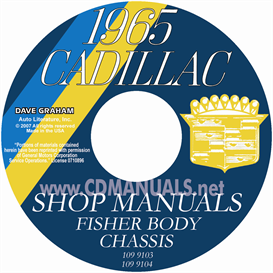 1965 Cadillac Shop Manual And Body Manual | eBooks | Automotive